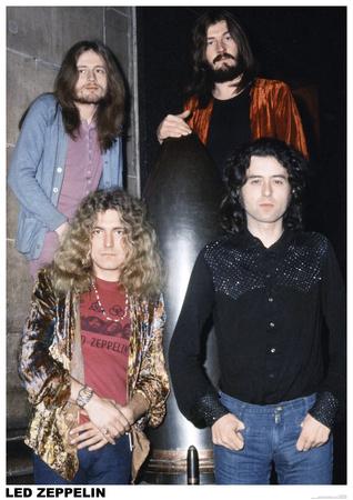 Led Zeppelin- London 1972 Prints