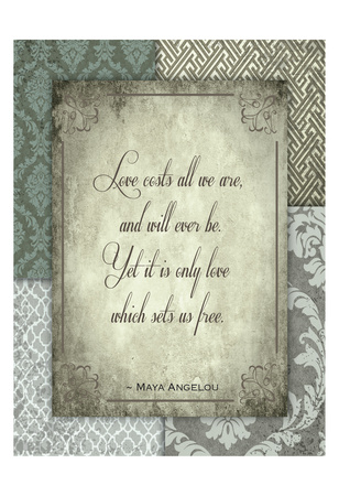 Love Costs Prints by Melody Hogan