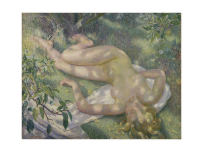 The Orchard Giclee Print by Dod Procter