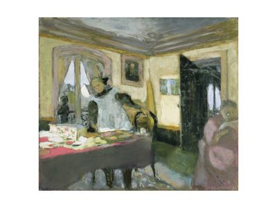 The Laden Table Giclee Print by Edouard Vuillard
