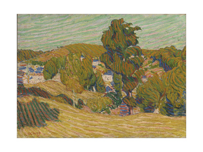 Yellow Landscape Giclee Print by Roderic O'Conor