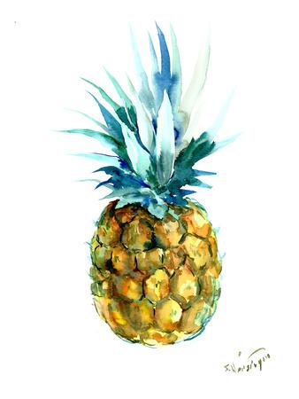 Pineapple Prints by Suren Nersisyan