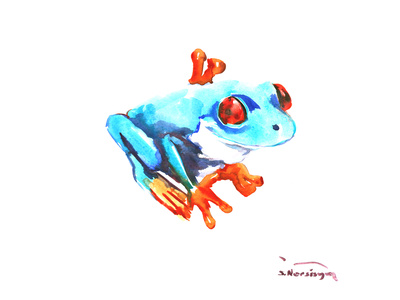 Frog Posters by Suren Nersisyan