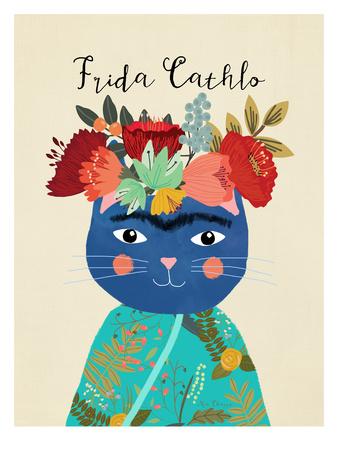 Frida Catlho Posters by Mia Charro