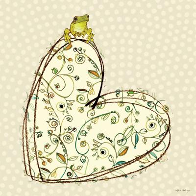 Tree Frog + Heart Prints by Robbin Rawlings