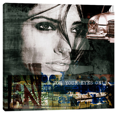 Diva XIII Stretched Canvas Print by Sven Pfrommer