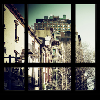 View from the Window - New York Winter Photographic Print by Philippe Hugonnard