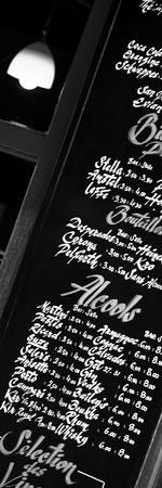 Paris Focus - Bar Menu Photographic Print by Philippe Hugonnard