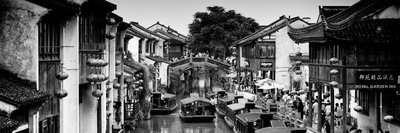 China 10MKm2 Collection - Shantang water Town - Suzhou Photographic Print by Philippe Hugonnard