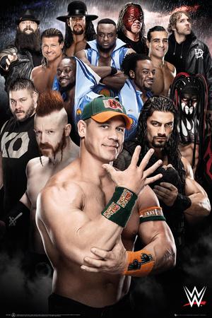 WWE- Superstars 2016 Pôster