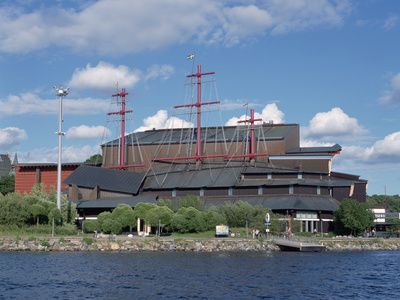 Vasa Museum, Djurgarden, Stockholm, Sweden Photographic Print by Peter Thompson