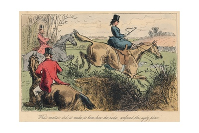What Matter Did it Make to Him How She Rode, Confound This Ugly Place, 1865 Giclee Print by John Leech