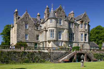 Torosay Castle and Gardens, Mull, Argyll and Bute, Scotland Photographic Print by Peter Thompson