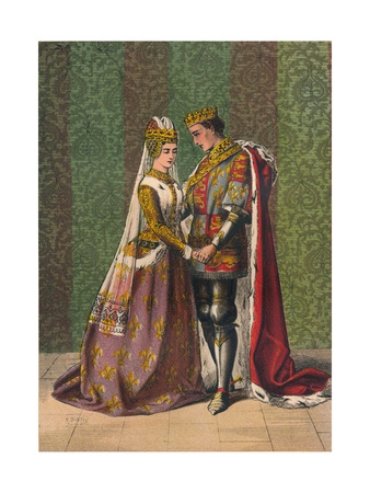 Dat Is as it Sall Please De Roi Mon Pere, C1875 Giclee Print by William Shakespeare