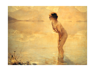 September Morn, 1912 Giclee Print by Paul Chabas