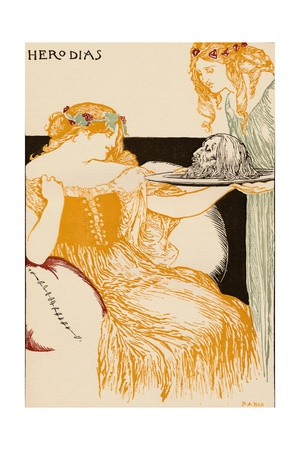 Herodias, 1896 Giclee Print by Robert Anning Bell
