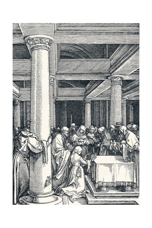 The Presentation of Christ in the Temple, 1506 Giclee Print by Albrecht Dürer