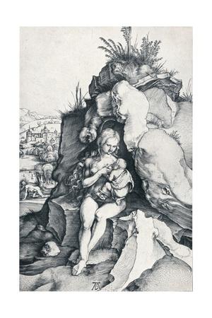 The Penance of St John Chrysostom, 1495 Giclee Print by Albrecht Dürer