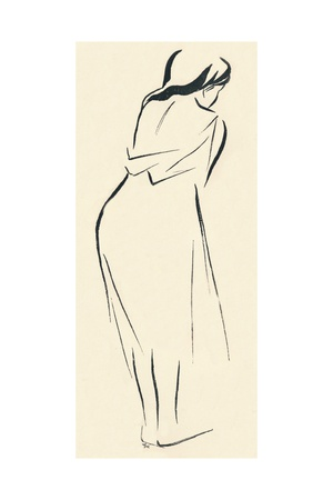 Study in Line, C1898 Giclee Print by Jean Louis Forain