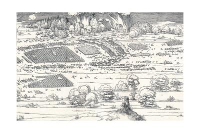 The Siege of a Fortress Ii, 1527 Giclee Print by Albrecht Dürer
