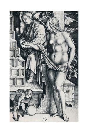 The Dream of the Doctor, 1497-1498 Giclee Print by Albrecht Dürer