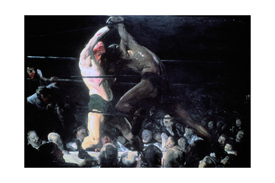 Both Members of This Club, 1909 Giclee Print by George Wesley Bellows