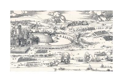 The Siege of a Fortress I, 1527 Giclee Print by Albrecht Dürer