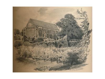 The Hall, Eltham Palace, 1902 Giclee Print by Thomas Robert Way