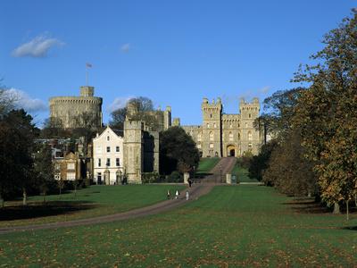 Long Walk, Windsor Castle, Berkshire Photographic Print by Peter Thompson
