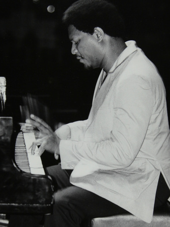 Mccoy Tyner Performing at the Newport Jazz Festival, Ayresome Park, Middlesbrough, July 1978 Photographic Print by Denis Williams