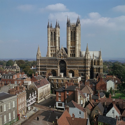 Lincoln Cathedral from the West Photographic Print by CM Dixon
