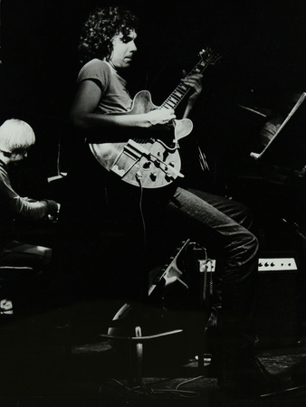 Michael Garrick and John Etheridge Playing at the Stables, Wavendon, Buckinghamshire Photographic Print by Denis Williams