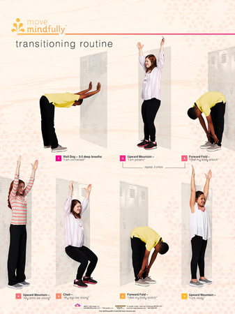 Move Mindfully Transitioning Poster Photo