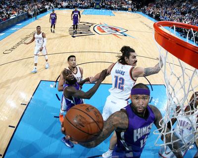 Sacramento Kings v Oklahoma City Thunder Foto af Layne Murdoch