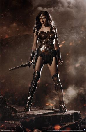 Batman vs. Superman - Wonder Woman Póster