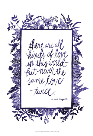 Love Quote IV Posters by Grace Popp