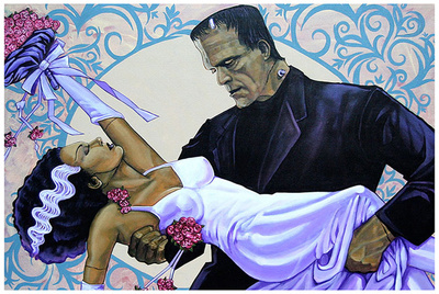 The Wedding Print by Mike Bell
