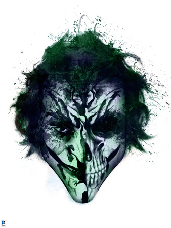 Artistic impression of The Joker