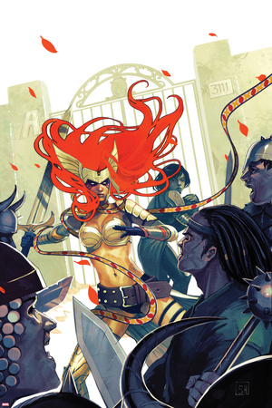 Angela: Asgards Assassin No. 2 Cover Posters by Stephanie Hans