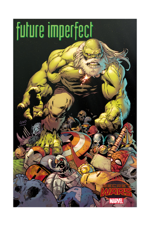 Marvel Secret Wars Cover, Featuring: Hulk Posters