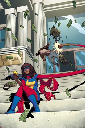 Ms. Marvel No. 6 Cover Prints by Jamie McKelvie