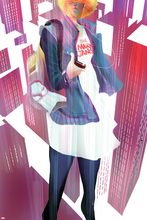 Spider-Gwen No. 4 Cover Posters by Robbi Rodriguez