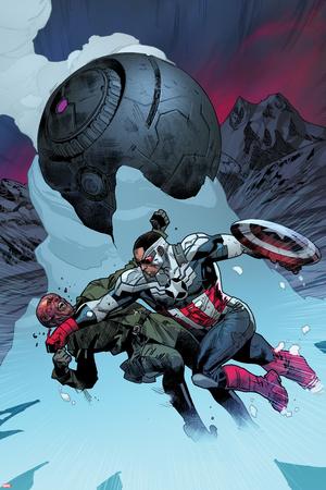 All-New Captain America No. 3 Cover, Featuring: Falcon Cap, Sin Photo by Stuart Immonen