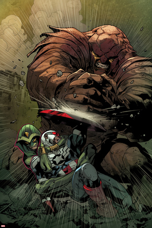 All-New Captain America No. 4 Cover, Featuring: Falcon Cap, Armadillo, King Cobra Posters by Stuart Immonen