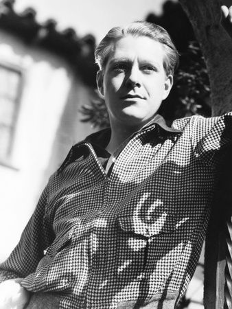 Nelson Eddy at Home, 1935 Photo