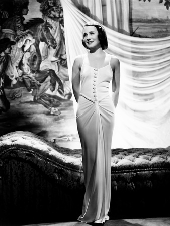 Norma Shearer, Ca. 1936 Photo