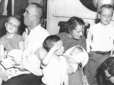 Survivors of the Ill-Fated Italian Liner Andrea Doria, July 26, 1956 Photo
