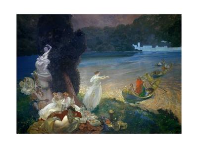 The Happy Island, 1900 Giclee Print by Paul Albert Besnard