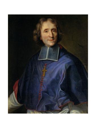 Francois De Salignac De La Mothe Fenelon, Archbishop of Cambrai, Ca 1690 Giclée-Druck von Joseph Vivien