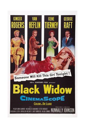 Black Widow Giclee Print